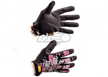Mechanix Wear Original Women's Gloves ( Pink Camo / Large )