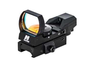 NC Star Green Dot Reflex / QR Mount / Black ( 4 Different Reticles )