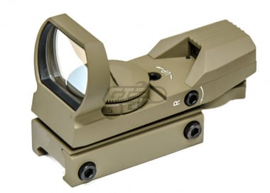 NC Star Red & Green Dot Reflex sight 4 Different Reticle ( TAN )
