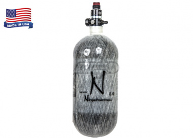 Ninja 90CI/4500PSI HPA System Gray Carbon Fiber Tank for Polar Star w/ Pro SLP Regulator