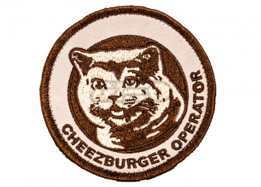 ORCA Industries Cheezburger Operator Patch ( Desert )