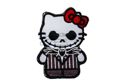 ORCA Industries Kitty Jack Skellington Patch ( Full Color )