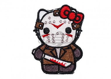 ORCA Industries Kitty Jason Voorhees Patch ( Full Color )