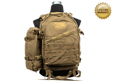 Pantac USA 1000D Cordura Molle 3-Days Pack ( Coyote Brown )