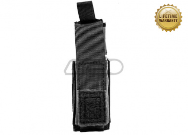 Pantac USA 1000D Cordura Molle Single .45 Mag Pouch With Hard Insert ( Black )