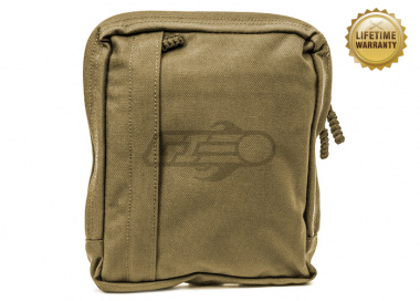 Pantac USA 1000D Cordura Amoeba Tactical MALICE Utility Pouch ( Coyote Brown / Large )