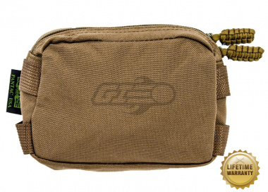 Pantac USA 1000D Cordura Molle Mini Utility Pouch ( Coyote Brown )