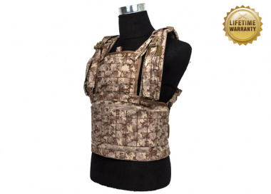 Pantac USA 1000D Cordura Molle MOD Tactical Vest ( Medium / Desert Digital )