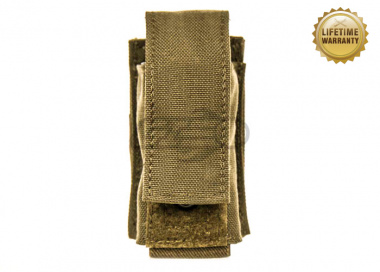 Pantac USA 1000D Cordura Molle Single 40mm Grenade Pouch ( Coyote )