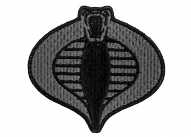 Lancer Tactical Cobra Patch ( Gray )