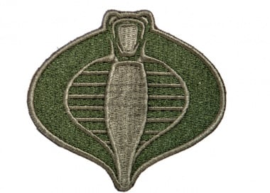 Lancer Tactical Cobra Patch ( OD Green )