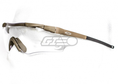 Smith Optics Aegis Echo Compact Shooting Glasses ( Tan )