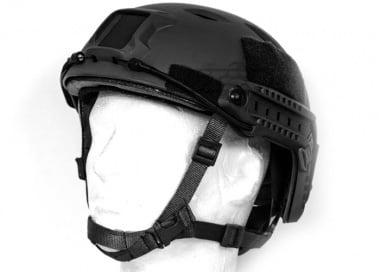 Spartan Head Gear BJ Type Helmet ( Black )