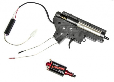 Systema Energy Complete Metal AEG Gearbox w/ Magnum Motor Set for M16-A2