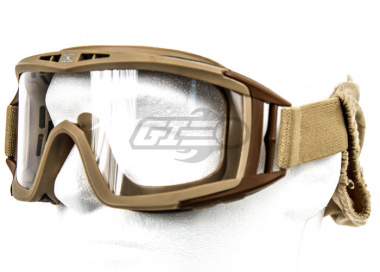 Tactical Crusader ProTac Goggles ( Tan )