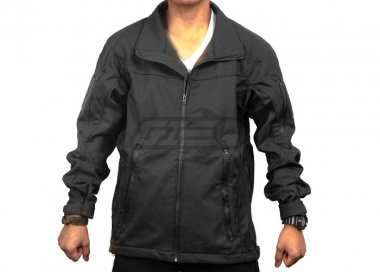 Tru-Spec 24-7 Tactical Soft Shell Jacket ( Black / LG )
