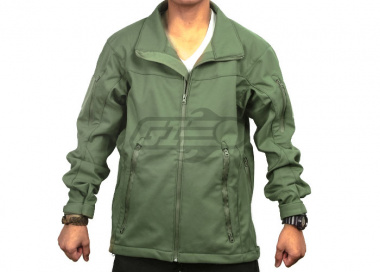 Tru-Spec 24-7 Tactical Soft Shell Jacket ( OD / SM )