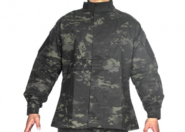 Tru-Spec Tactical Response BDU Shirt 50/50 Nylon Cotton Ripstop ( Multicam Black S / M / L / XL )