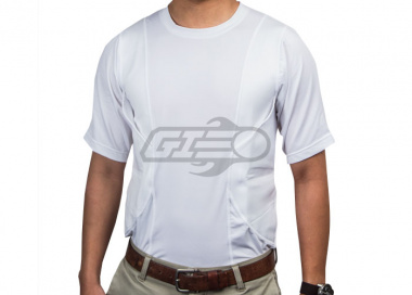 Tru-Spec 24-7 Concealed Holster Shirt ( White / M )