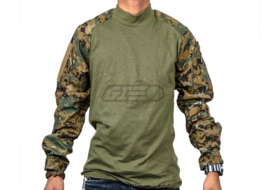 Tru-Spec Combat Shirt (Woodland Digital/LG/Regular)