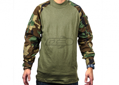 Tru-Spec Combat Shirt (Woodlandl/SM/Regular)