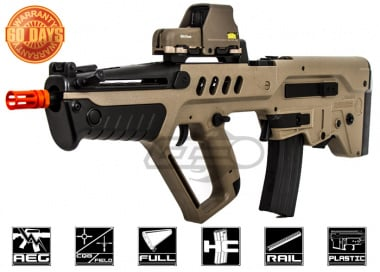 Elite Force IWI Tavor TAR-21 AEG Airsoft Gun ( Tan / Competition Series)