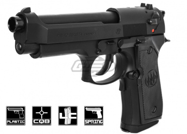 Umarex Beretta 92 FS Spring Powered pistol Airsoft Gun ( Black )