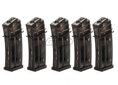 Umarex H&K 420rds G36 High Capacity Magazine ( 5 Pack  /  Black )