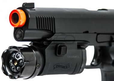 Walther FLR 650 Compact LED Flashlight with Red Laser