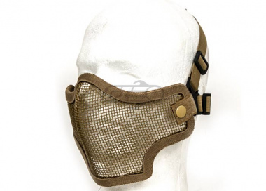Valken Tactical 2G Wire Mesh Tactical Mask ( Tan )
