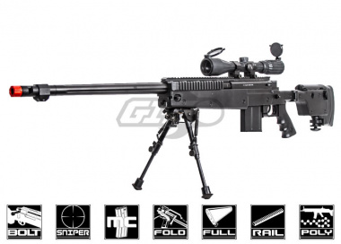 Well VSR-10 Customs Bolt Action Airsoft Sniper Rifle Airsoft Gun