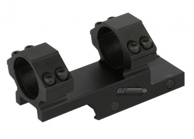 "Leapers 1"" Bi-Directional Offset High Profile Scope Mount"