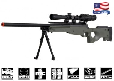 Airsoft GI Full Metal Fully Upgraded G98 Advanced Bolt Action Sniper Rifle Airsoft Gun ( OD )