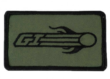 Airsoft GI Flaming BB Patch with Velcro