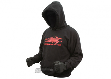 Airsoft GI Hooded Sweatshirt ( Black / L )