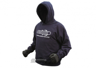Airsoft GI Hooded Sweatshirt ( Blue / XXL )