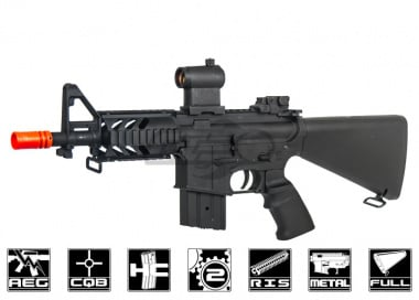 AGM Full Metal M4 CQB Stubby AEG Airsoft Gun ( Full Stock )