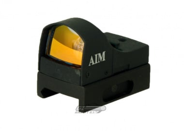 AIM Sports Mini Red Dot Sight ( On & Off Switch )