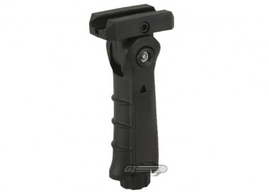 AIM Sports Foldable Tactical Ergonomic Vertical Grip w/ Pressure Pad Housing