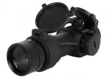 AIM Sports 1.5x30 Red Dot Sight ( 2x Magnifier & Flip Up Lens Covers )