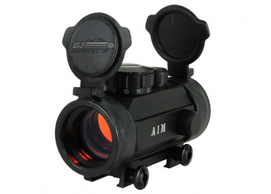 AIM Sports 1x30 Red Dot Sight (  Flip Up Lens Covers )