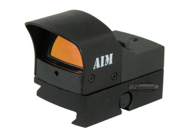 AIM Sports Compact Tactical Red Dot Sight ( Auto Brightness )