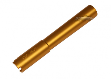 AIP Aluminum Outer Barrel For Hi-Capa 5.1 in Gold