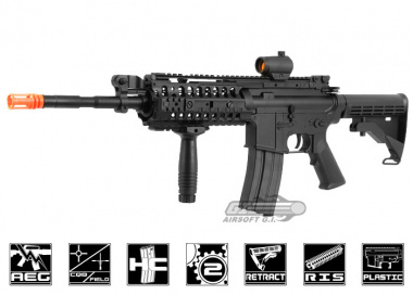 A&K M4 S-System AEG Airsoft Gun ( Battery and Charger Package )