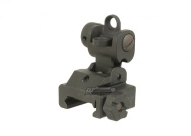 APS Folding Battle Rear Sight
