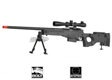 *Discontinued*ARES Full Metal AW-338 Gas Powered Bolt Action Sniper Rifle Airsoft Gun ( BLK / CNC Edition )