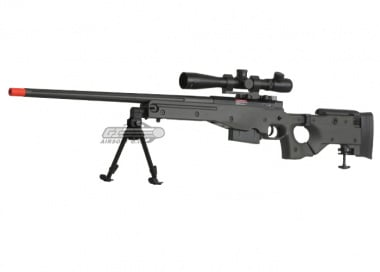 ( Discontinued ) ARES Full Metal AW-338 Gas Powered Bolt Action Sniper Rifle Airsoft Gun ( OD / CNC Version )