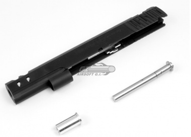 Airsoft Surgeon Capsicum Open Slide Set for TM Hi Capa ( Black )