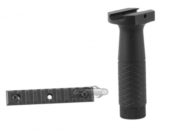 AIM Sports Tactical Vertical ForeGrip w/ Rail