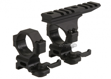 B-2 30mm QD Mount with Top Rail Set ( Version 2 )